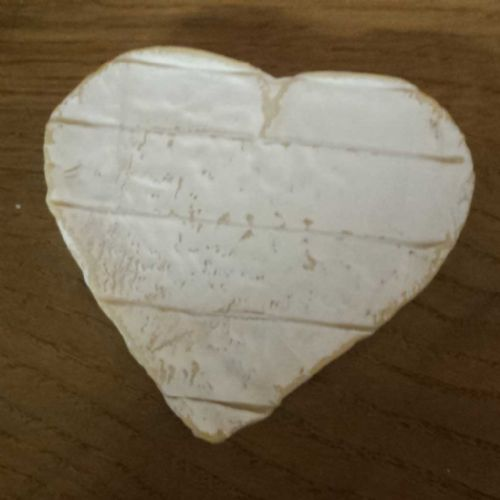 Coeur De Neufchatel Cheese, Heart shaped Brie Cheese